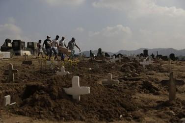 RJ passa de 11,4 mil mortes e 132 mil casos confirmados de Covid