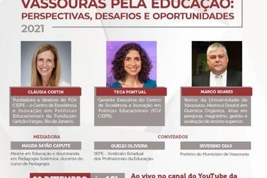 Universidade de Vassouras organiza debate online sobre educação básica