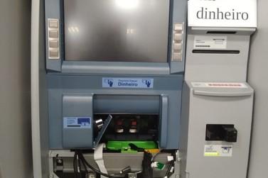 Homem é preso tentando arrombar caixa eletrônico de agência bancária de Mendes