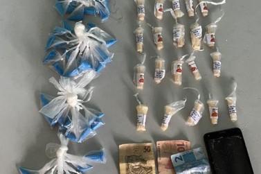 Jovem é flagrado com cocaína no bairro Jardim Cidade do Aço, em Volta Redonda