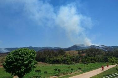 Incêndio no Parque Estadual da Serra da Concórdia, em Valença, atinge quase 500 hectares