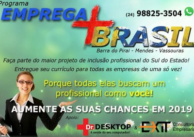 Programa Emprega mais Brasil. Uma ferramenta de apoio para toda a Comunidade