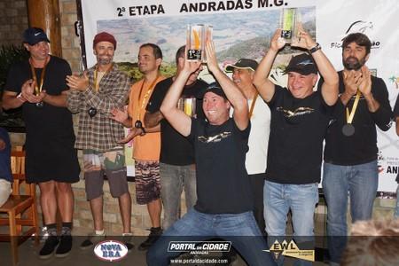 Premiação da 2ª etapa do Campeonato Brasileiro de Asa Delta