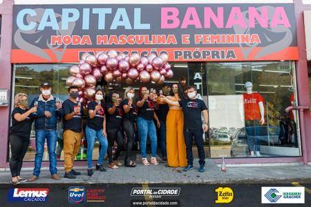 Capital Banana - Moda Masculina e Feminina - Inauguração