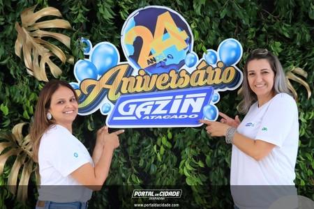 Comemoração Gazin Atacado - 24 Anos