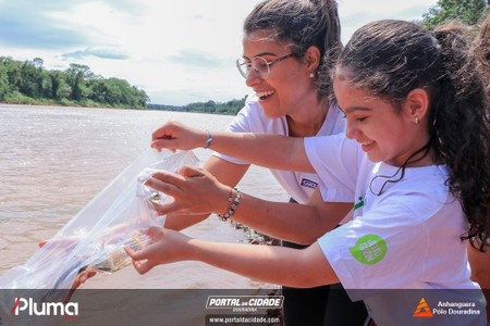 Soltura de Peixes - Rio Ivaí