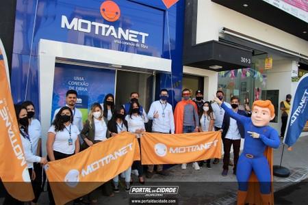 Inauguração Mottanet  (uma conexão de fibra)