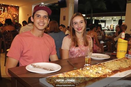 Noite de sorteio na Metru's Pizzaria