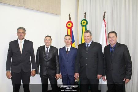 Posse prefeito, vice-prefeito e vereadores de Nova Resende