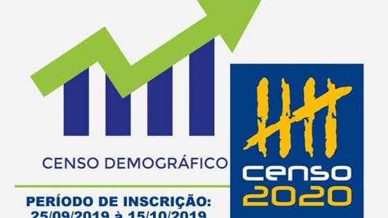 IBGE Rio das Pedras terá novo Censo Demográfico 2020 12/10/2019 às 09:05 - Portal da Cidade