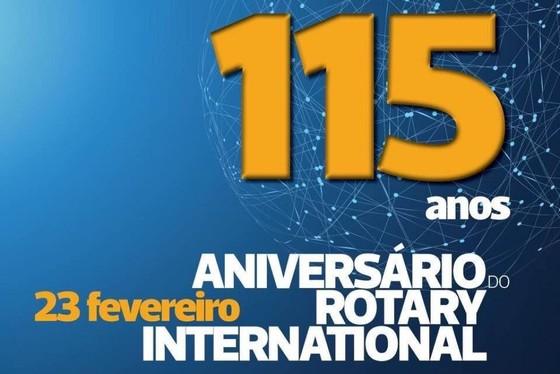 Rotary Internacional comemora 115 anos!
