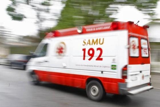 Após o uso de alguns equipamentos adequados, a equipe do Samu conseguiu descolar no ânus do rapaz
