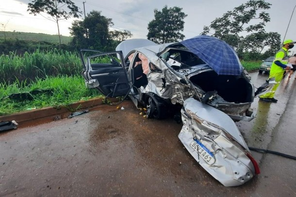 2 pessoas morrem em acidente que envolveu carro com placas de Lucas do Rio  Verde