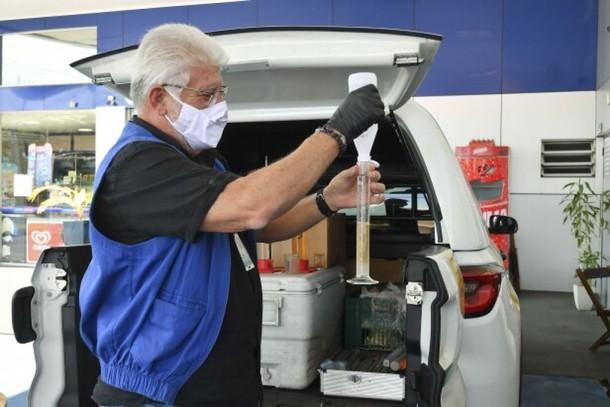 Fiscalização avaliou a qualidade dos combustíveis comercializados em oito postos de Umuarama